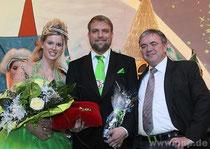 Pockinger Prinzenpaar 2014 mit Franz Krah