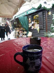 ホットワイン@ニュルンベルグのクリスマスマーケット
