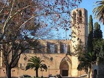 Kirche Pedralbes (Bild: Ludvig14/Wiki Commons) - Weitere Bilder unten