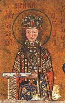 Byzantinische Prinzessin / Russische Ikone