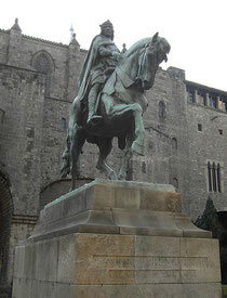 Denkmal Ramon Berenguer III. in Barcelona (Wikimedia - Foto: Toniher)