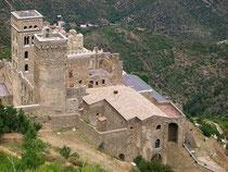 Blick auf Sant Pere de Rodes