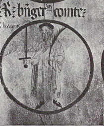 Ramon Berenguer III. (Genealogische Rolle von Poblet, um 1400 - Wikimedia)