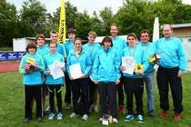 Erfolgreiches Forstenrieder Sommerbiathlon-Team