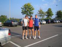 v.l.n.r. Christian, Theo und Gerd