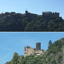 Burg Rheinfels und Burg Katz