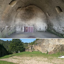 Keller und Turnierplatz von Burg Rheinfels