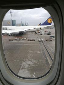 Flug nach New York