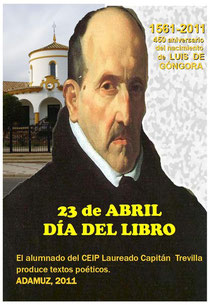 Cartel anunciador del Día del Libro