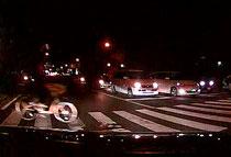 夜間 交差点 交通事故 自転車 無灯火