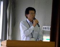 臼井業務部長(岐阜県トラック協会)