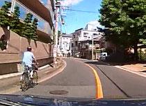 自転車追い越し
