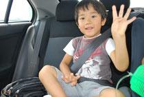 チャイルドシートを着用させることは挟込み事故から子どもを守ることにもなります