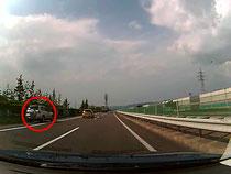 高速道路 路肩駐車