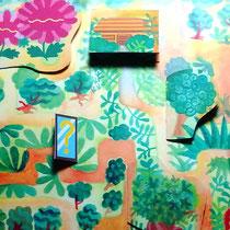 展示の絵本の仕掛け部分の例