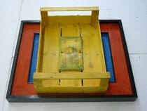 """RINASCIMENTO IN CASSETTA"" 1/1 -Olfactory sculpture"" 2010"