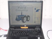 Computer mit Sticksoftware
