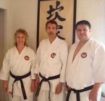 unsere neuen A.J.K.A. Karate Instruktoren