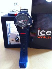 BMW Motorsport Chrono in blau = auch in weiss und als small watch ab Lager lieferbar