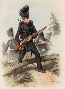Jäger im 18. Jahrhundert