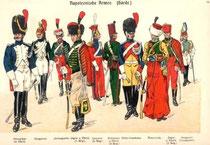 Napoleonische Armee (Garde) - Jäger zu Pferde (4.v.l.)