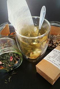 Groot assortiment aan losse thee