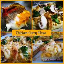 Chicken Curry Pizza