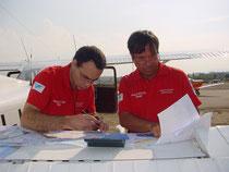 Salvatore Tasca (Pilota) con François Robert (Navigatore)