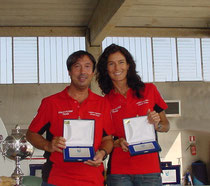 Salvatore Tasca (Pilota) con la moglie Susanna (Navigatore)