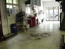Garage vor Übernahme und Renovation