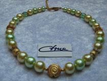 Collier grün-gold (9225)