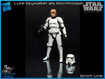 Luke Skywalker in Stormtrooper Disguise