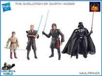 Evolution of Darth Vader