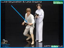 Luke Skywalker & Leia Organa