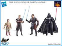 Evolution of Darth Vader