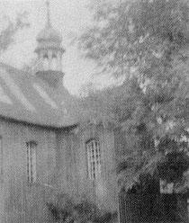 Poprzednik obecnego kościoła w Wojkowie, zbudowany w 1646 roku.