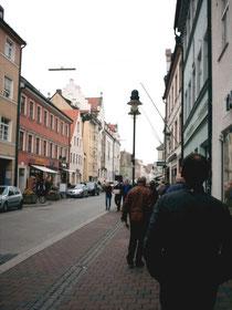 Die Freisinger Altstadt blieb im 2.Weltkrieg von Bomben weitegehend verschont