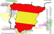 Imagen mapa de España