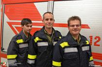 Als neue Mitglieder können vorgestellt werden: PFM Andexlinger Alexander, PFM Weinreich Roland und PFM Wilhelm Rainer.