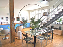Loft à vendre à Pantin agence Maisons Parisiennes immobilier de Charme