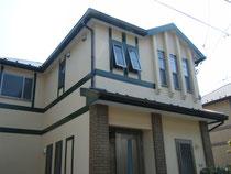 外壁塗装工事の施工例