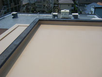 屋根防水工事の施工例