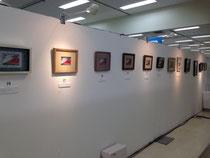 作品展示会場の様子