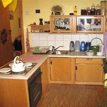 Die Küche ist voll funktionsfähig