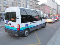 Un véhicule du service HandiStar, proposé par le réseau STAR à Rennes.