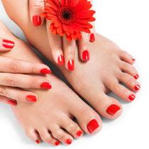 Manicure mit UV Lack