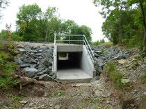 Foto: privat, neu sanierte Jonastalbrücke kurz vor Fertigstellung