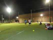 東京体育館での練習