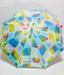 前回出品していた日傘です。