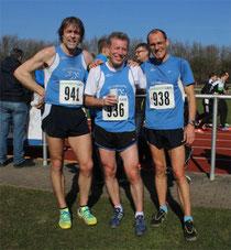 erfolgreiche Senioren: v.l. Franz, Willi, Richard